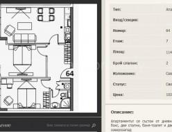 Sell Two bedroom apartment - Sofia, Studentski grad